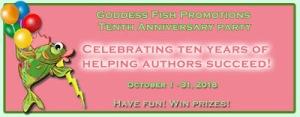 Goddessfish Promotions Anniversary
