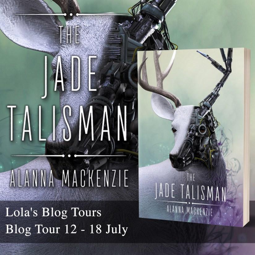 The Jade Talisman Blog Tour Banner